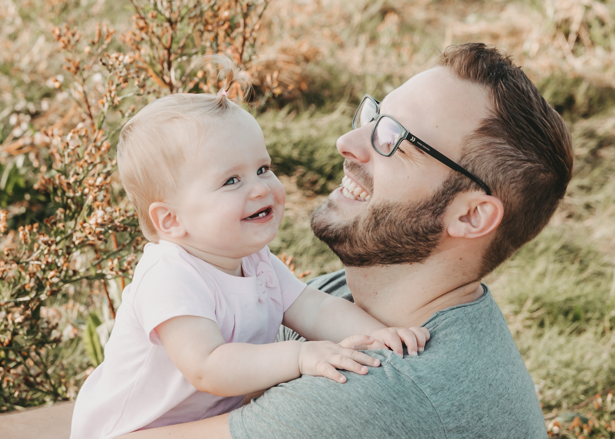 natürliche Familienbilder