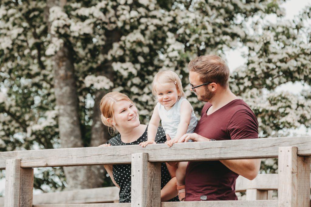 natürliche Familienfotografie Rastede