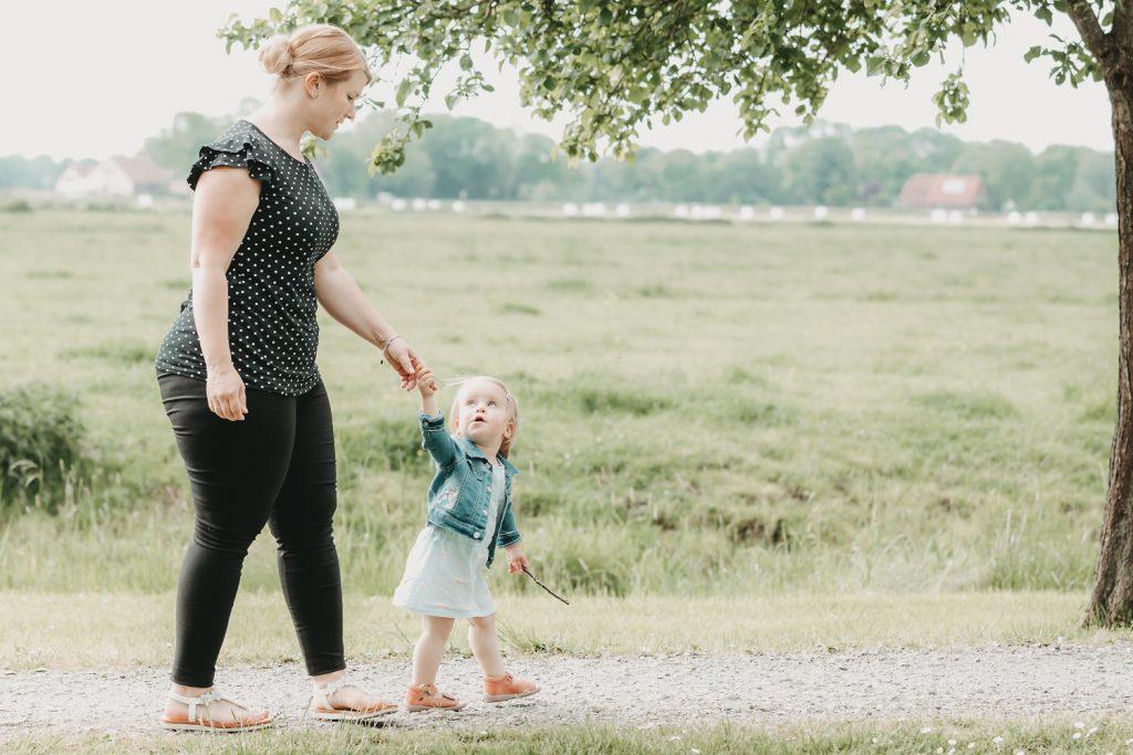liebevolle Familienfotografin