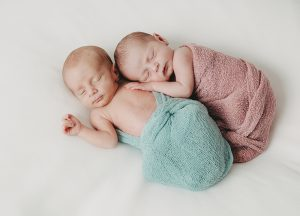 Neugeborenenfotos Zwillinge Nordenham