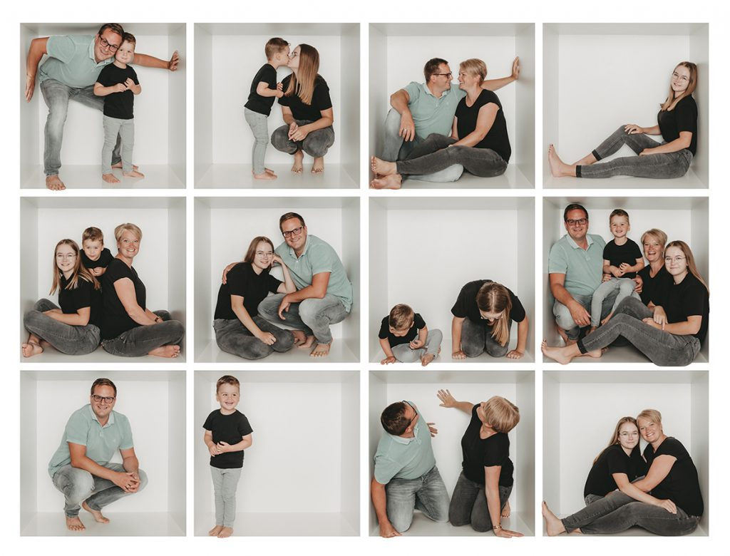 Familienshooting in der Box