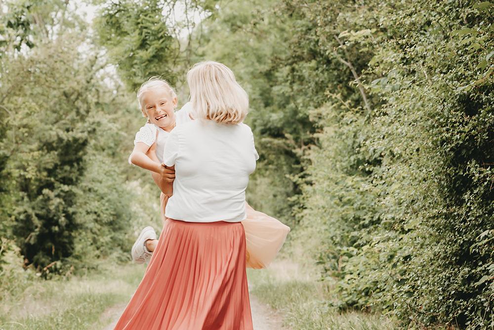 Familienshooting mit viel Spaß
